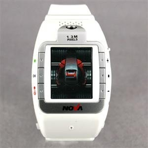 Watch cell phone w/built in camera