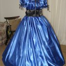 Civil War Ball Gown Reenacting Dickens Victorian Dress Custom Colors