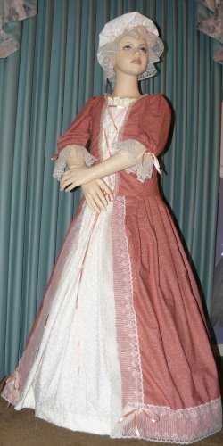 Custom Made Colonial Dress Gown Felicity Costume Ladies Sizes