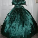Civil War Ball Gown Reenacting Dickens Victorian Dress Custom Colors Beaded Trim