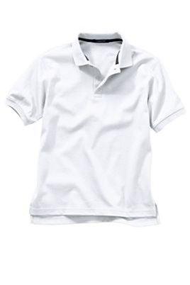 Men's White Polo Shirt