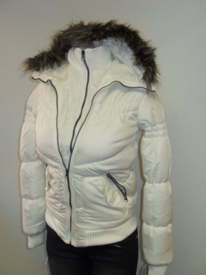 B Hip! - Bubble Jacket - White