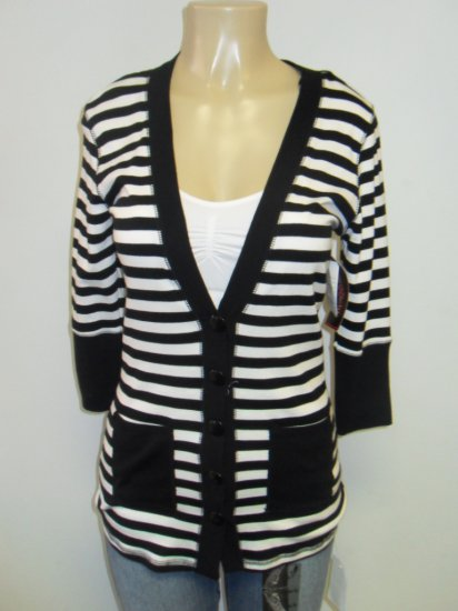Anxiety - Cardigan - Black/white