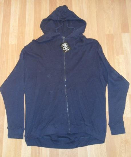 Cotton Heritage - Hooded Thermal - Blue