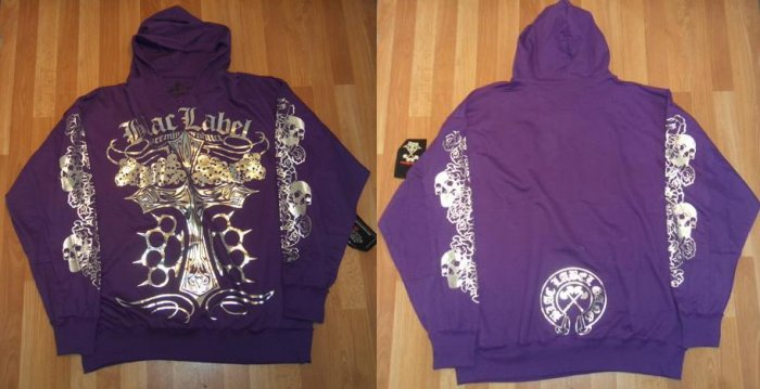 Blac Label - L/S Hoody - Purple