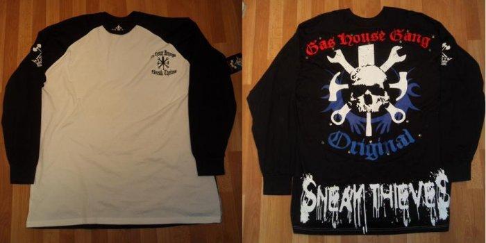 Blac Label - L/S Shirt - Black/White
