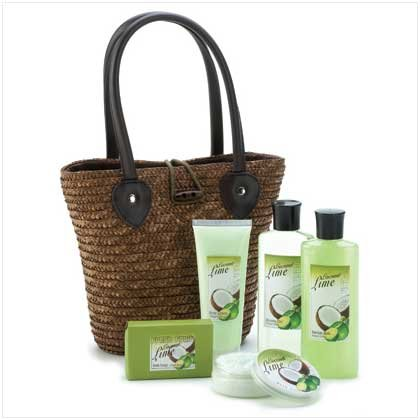 Coconut Lime Bath Collection