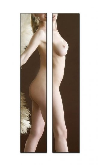 Modern Contemporary oil paintings nude girl painting nude027