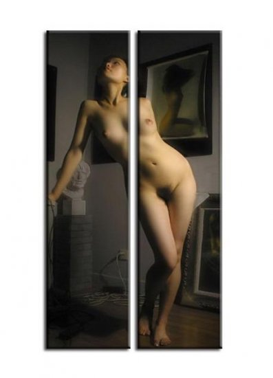 Modern Contemporary oil paintings nude girl painting nude065