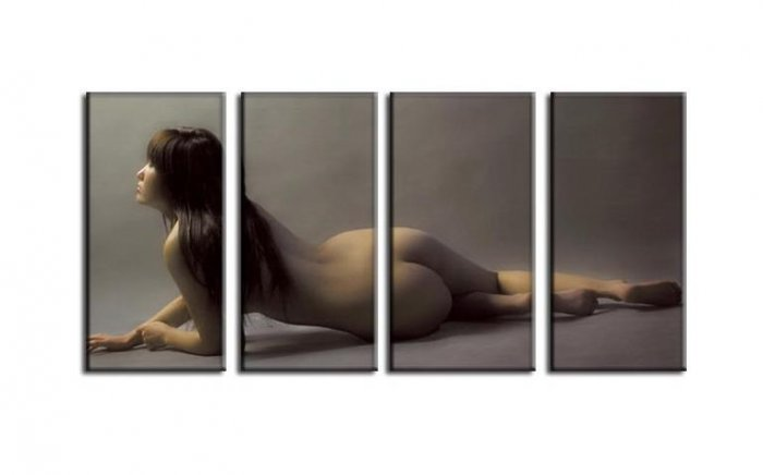 Modern Contemporary oil paintings nude girl painting nude067