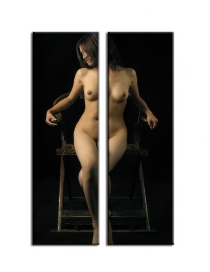 Modern Contemporary oil paintings nude girl painting nude068