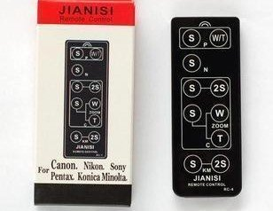 remote control for Canon EOS camera 5II,7D,G9,G10,EOS30,33,30V,EOS50,55,EOSkissIII,EOSkissIIIL