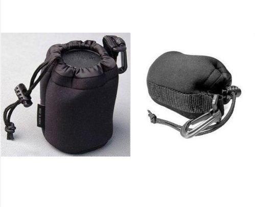 lens case pouch bag for Canon, Tamron, Nikon, Pentax, Sony, Minolta, SIGMA, Olymupus lens