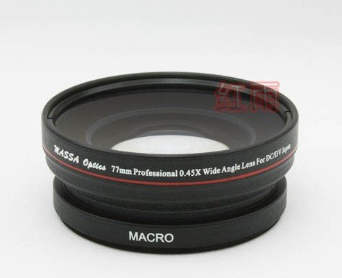 77mm 0.45x WIDE Angle + Macro Conversion LENS 77 0.45