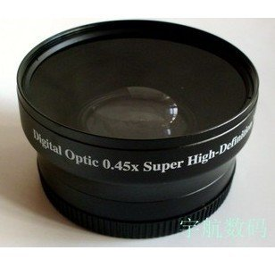 58mm 0.45x WIDE Angle + Macro Conversion LENS 58 0.45