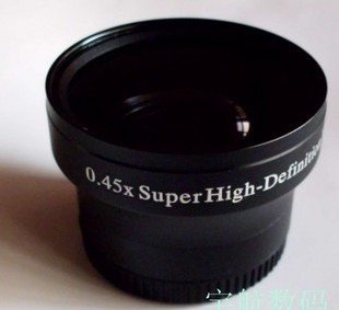 37mm 0.45x WIDE Angle + Macro Conversion LENS 37 0.45