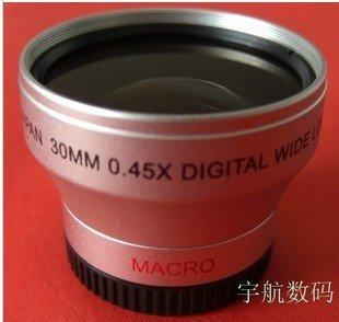 30mm 0.45x WIDE Angle + Macro Conversion LENS 30 0.45