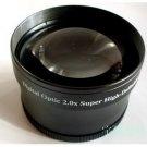52mm 2.0x High Definition Digital Telephoto LENS