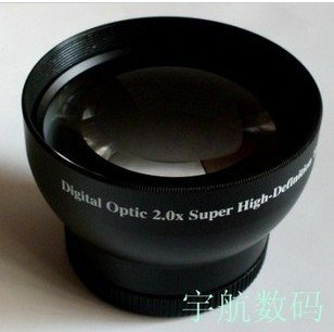 43mm 2.0x High Definition Digital Telephoto LENS