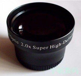 37mm 2.0x High Definition Digital Telephoto LENS