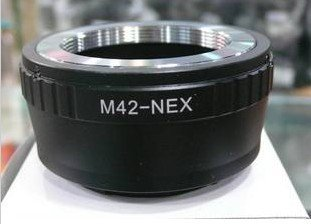 M42 Mount Lens to Sony NEX E mount NEX-3 NEX-5 NEX3 NEX5 Adapter