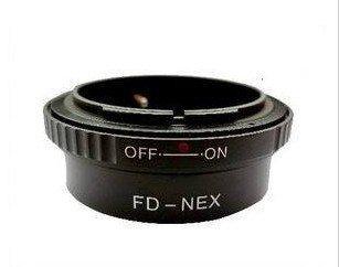 Canon FD Lens to Sony NEX E NEX-3 NEX-5 NEX5 NEX3 Adapter Ring
