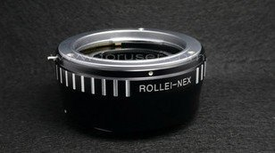 Rollei 35mm QB lens to Sony E mount NEX-3 NEX-5 NEX5 NEX3 camera adapter