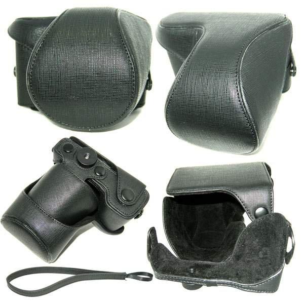 Leather case Bag For Sony NEX5 NEX-5K NEX-5A digital camera