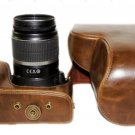 WP25: Leather case bag to Canon EOS 500D 550D 1000D 450D 400D 350D 300D Digital SLR camera