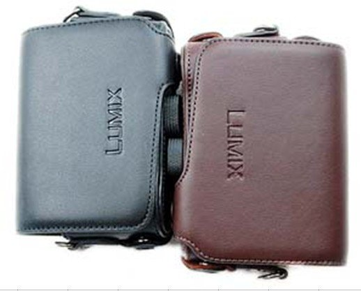 leather case bag for  Panasonic Lumix DMC-ZS7 ZS5 ZS3 Digital Camera
