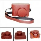 Leather Case bag LC-X100 Finepix X100 Fujifilm brown or black