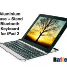 iPad 2 Aluminum Bluetooth Keyboard Case 2th Generation
