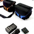 NIKON COOLPIX P7100 P7000 camera bag+car charger travel charger+ EN-EL14 battey