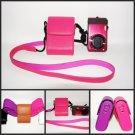 Leather case bag- Sony camera H55 HX5C HX5 HX5V H20