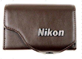 leather case bag- NIKON S4100 S3100 S2500 S4000 camera