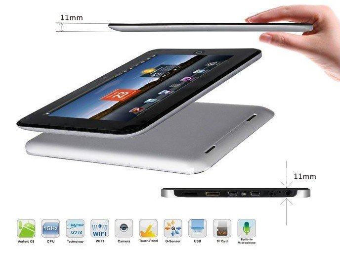 "7"" Superpad i7 InfoTM IMAP X210 1.0 GHz Android 2.2 Tablet PC ePad SUPER SLIM"