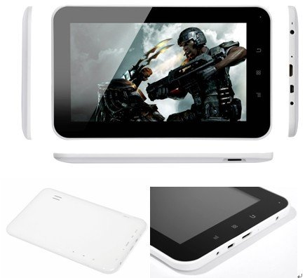 Android 4.0 Capacitive Tablet PC MID ALLWINNER A10 WIFI HDMI 3G 1.5GHZ 512MB 4G