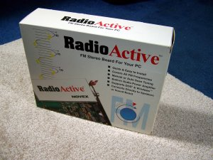 RadioActive FM Stereo Board for PC