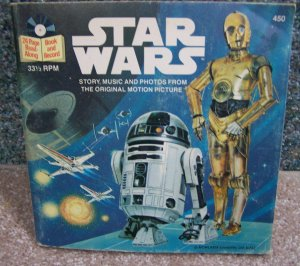 Star Wars Read-Along Book & Record #450