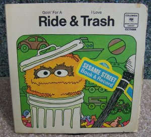 Sesame Street Book & Record