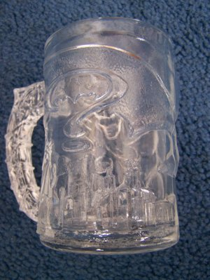 McDonald's Batman Forever Glass
