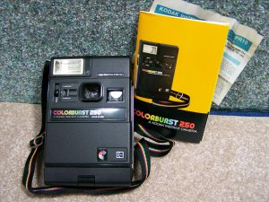 Kodak Colorburst 250 camera