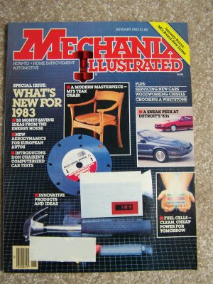 Mechanix Illustrated - January 1983