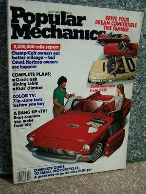 Popular Mechanics - July 1979