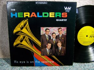 Heralder's Quartet - His Eye Is On The Sparrow