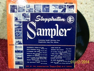 Singspiration Sampler
