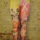 Multi Print Leggings  Large