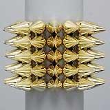 Gold Spike Bracelet seen on jerseylicious