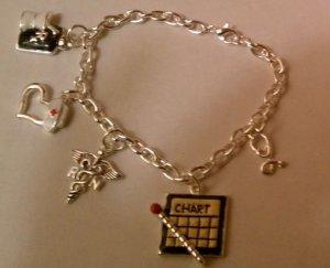 Nurse Charm Bracelet