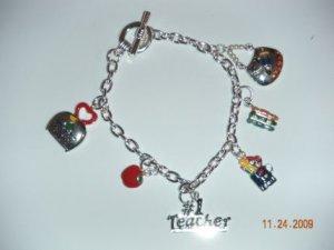 Teacher Charm Bracelet